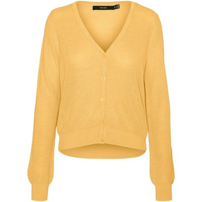 Vero Moda Pullover Vmnewlexsun Ls Short V-neck Cardigan Ga 10244407 | VERO MODA SALE