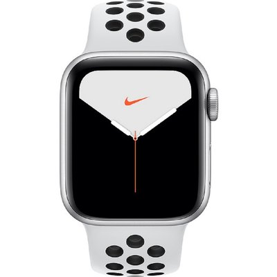 Apple Watch Series 5 Nike GPS+Cellular 40mm Silver Case Platinum Black Nike Sport Band