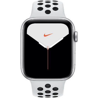 Apple Watch Series 5 Nike GPS+Cellular 44mm Silver Case Platinum Black Nike Sport Band