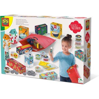 SES CREATIVE Petits Pretenders Childrens Supermarket Groceries Play Set