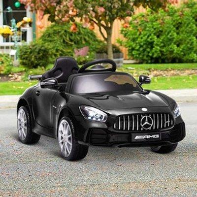 Kids Electric RIde On GTR Car - Black