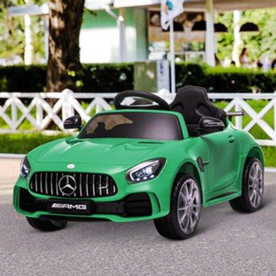 Kids Electric RIde On GTR Car - Green