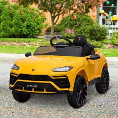 Lamborghini Urus 12V Kids Electric Ride On Car  - Yellow