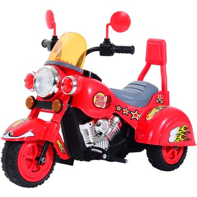 Children Ride On Toy Electric Motorbike 6V - Red