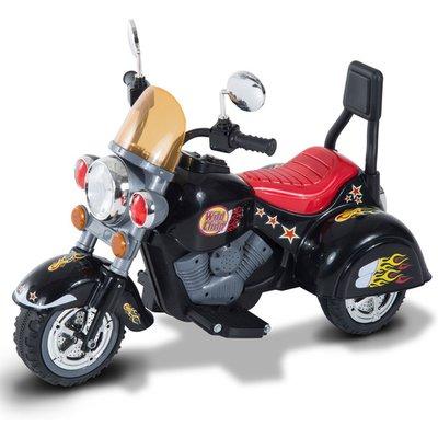 Children Ride On Toy Electric Motorbike 6V - Black