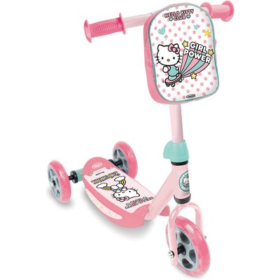 HELLO KITTY Club Children's Three Wheel Tri-Scooter with Removable Bag, Girl