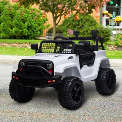 12V Kids Electric Ride On Car Truck Toy SUV - Red