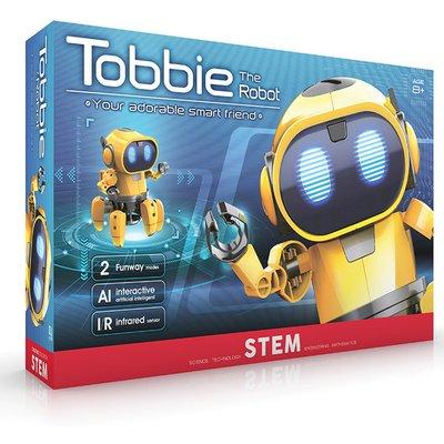 Tobbie the Self-Guiding AI Robot - Yellow