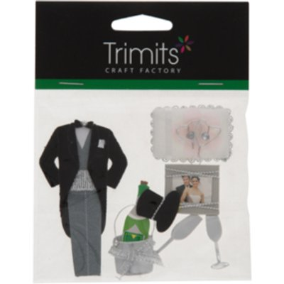 Craft For Occasions Wedding Kit Toppers - 0000028456629