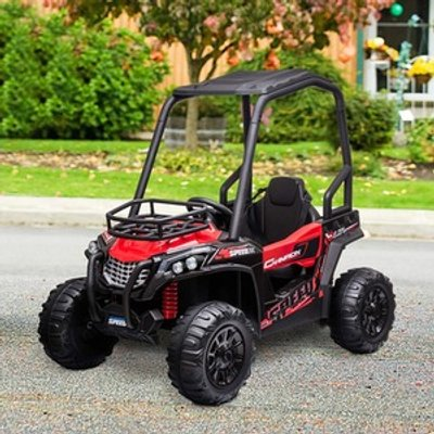 Electric Ride On Off Road UTV Toy - Red