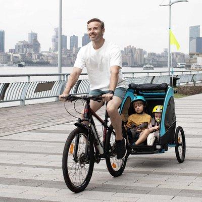 Child Bike Trailer - Blue