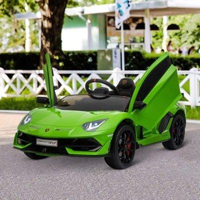 Electric Ride On Lamborghini Aventador - Green