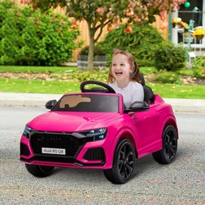AUDI RS Q8 Battery-powered Electric Ride On Car - Pink