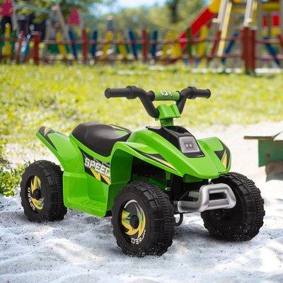 6V Kids Electric Ride on Car ATV Toy Quad Bike - Green