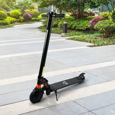 250W Power Electric Scooter with Light - Black