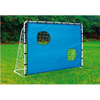 LEGLER Football Goal with Goal Wall Outdoor Toy - Blue