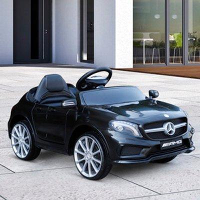 Mercedes Benz Licensed Ride On Car  - Black