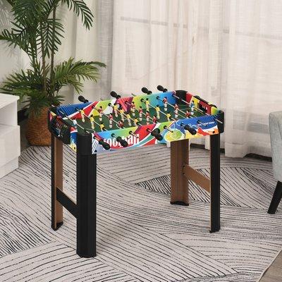 2.8ft Football Foosball Gaming Table - Multicoloured