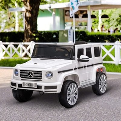 Electric Ride On Mercedes Benz G500 - White