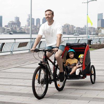 Child Bike Trailer - Red