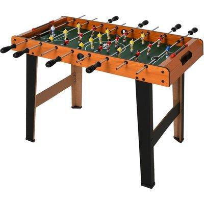 Football Table Heavy Duty 84.5cm for Arcades - Natural wood finish