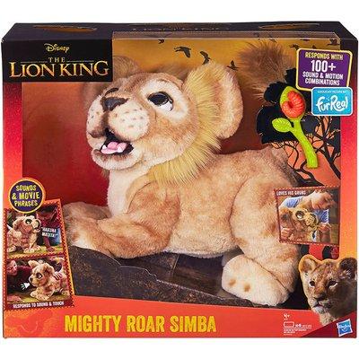 Disney The Lion King Fur Real Mighty Roar Simba