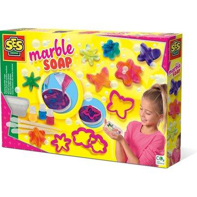 SES CREATIVE Childrens Making Marble Unisex Soaps Set