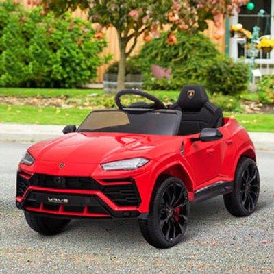 Lamborghini Urus 12V Kids Electric Ride On Car  - Red