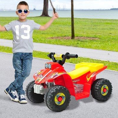 6V Kids Electric Ride on Car Quad Bike ATV Toy  - Red
