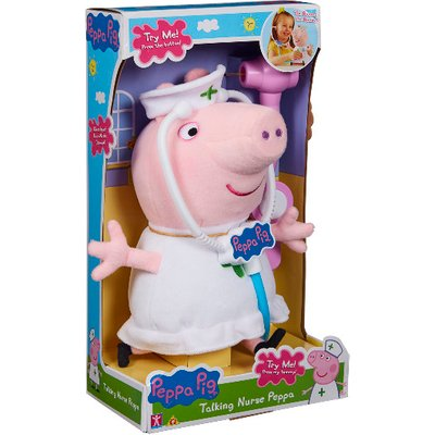 Peppa Pig Talking Nurse Playset