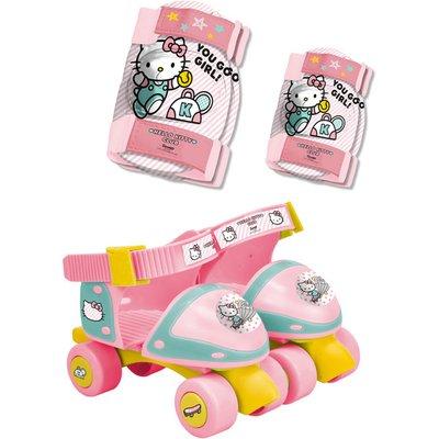 HELLO KITTY Children's Adjustable Quad Roller Skates