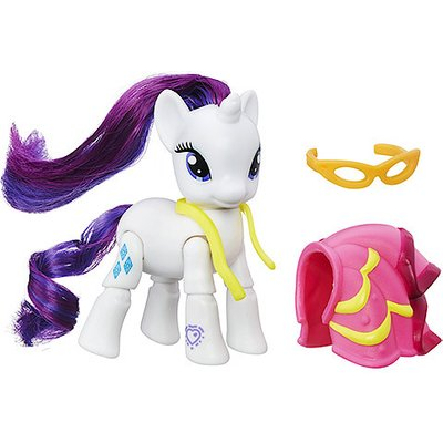 My Little Pony Dressmaking Rarity Poseable Figure