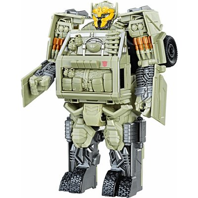 Transformers: The Last Knight 2-Step Turbo Changer Figure -Autobot Hound
