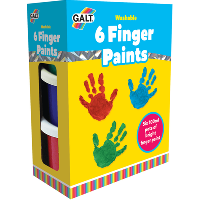 Galt 6 Finger Paints