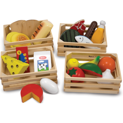 Melissa & Doug - Wooden Play Food