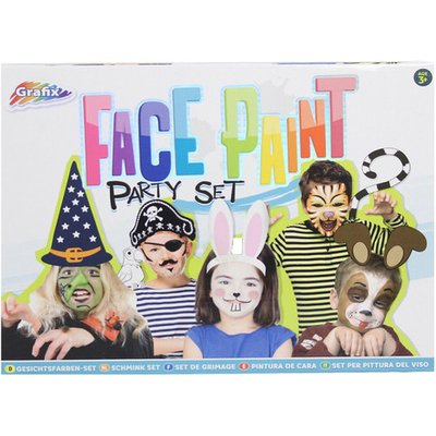 Grafix Face Paint Party Set