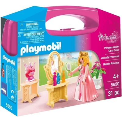 Playmobil 5650 Small Princess Vanity Carry Case