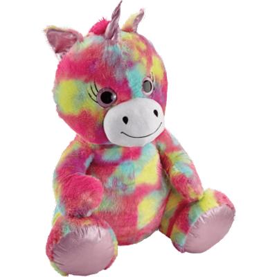 Snuggle Buddies 80cm Plush Unicorn - Rainbow Shimmer