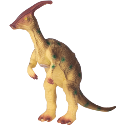 Interactive Dinosaurs - Parasaurolophus Brown