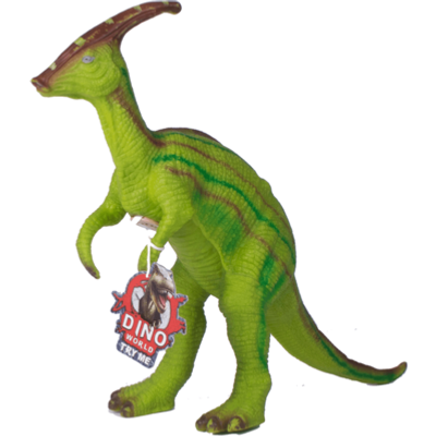 Interactive Dinosaurs - Parasaurolophus Green