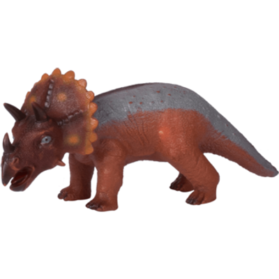 Interactive Dinosaurs - Triceratops Brown