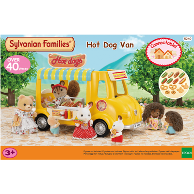 Sylvanian Families Hot Dog Van