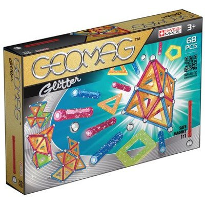 Geomag Glitter Construction Set - 68 Pieces