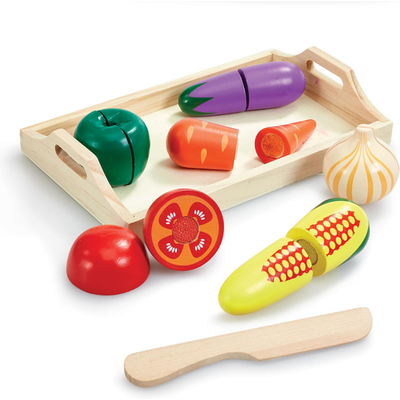 Woodlets Slicing Food Playset Vegetables