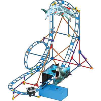 K'NEX Shark Attack Roller Coaster Building Set