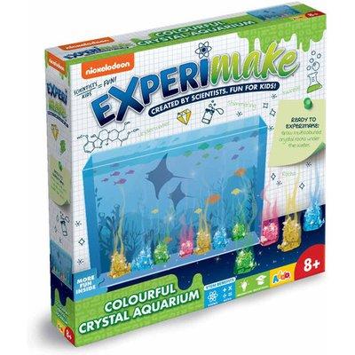 Nickelodeon Experimake Colourful Crystal Aquarium
