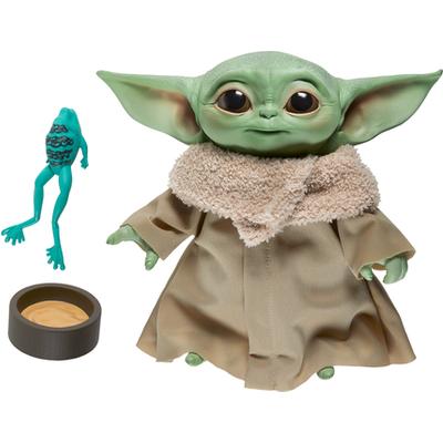 Star Wars The Mandalorian Talking 19cm Plush Toy - The Child