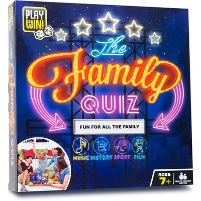 Play & Win The Family Quiz Board Game