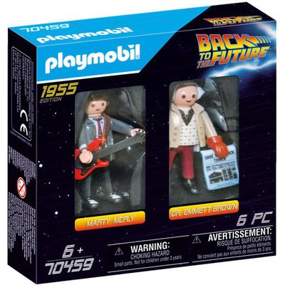 Playmobil 70459 Back to the Future Marty and Doc