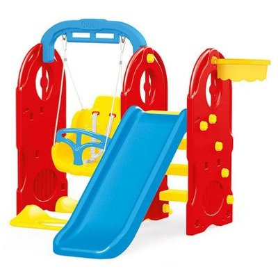 Dolu 4-in1 Indoor & Outdoor Playground Frame (H124cm)